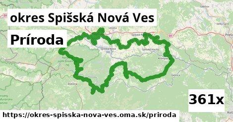 príroda v okres Spišská Nová Ves