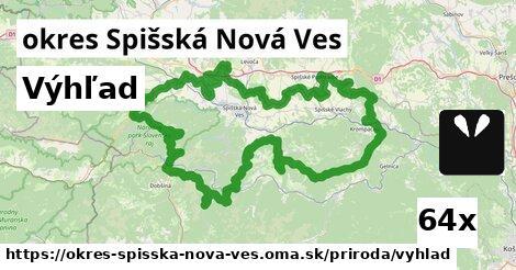 výhľad v okres Spišská Nová Ves