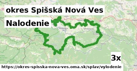 nalodenie v okres Spišská Nová Ves