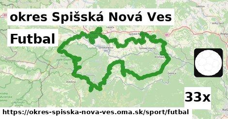 Futbal, okres Spišská Nová Ves