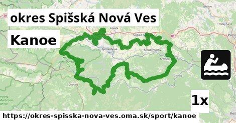 Kanoe, okres Spišská Nová Ves