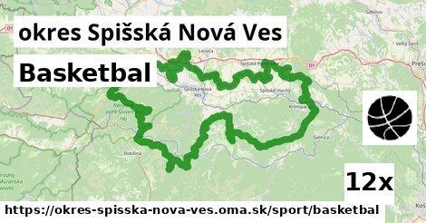 ilustračný obrázok k Basketbal, okres Spišská Nová Ves