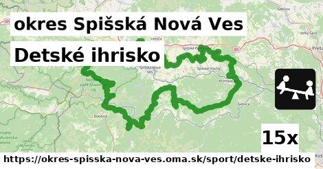 ilustračný obrázok k Detské ihrisko, okres Spišská Nová Ves