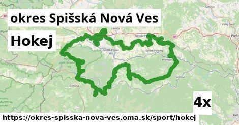 ilustračný obrázok k Hokej, okres Spišská Nová Ves