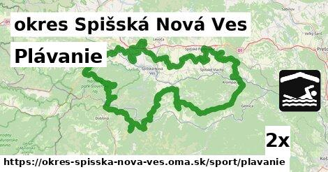 ilustračný obrázok k Plávanie, okres Spišská Nová Ves