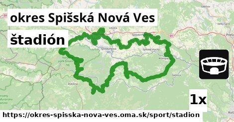ilustračný obrázok k štadión, okres Spišská Nová Ves