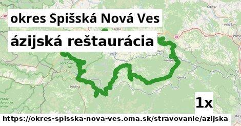 ázijská reštaurácia, okres Spišská Nová Ves