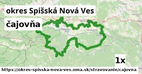 čajovňa, okres Spišská Nová Ves