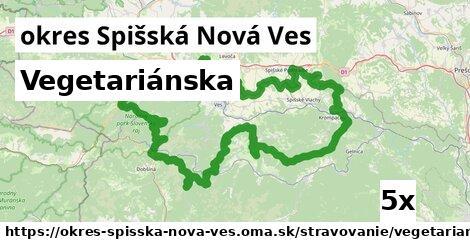 Vegetariánska, okres Spišská Nová Ves