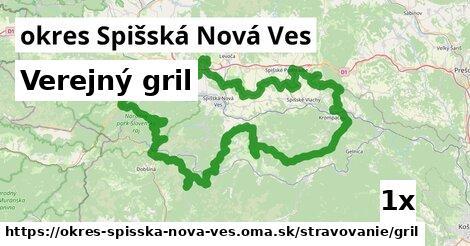 ilustračný obrázok k Verejný gril, okres Spišská Nová Ves