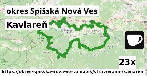 kaviareň v okres Spišská Nová Ves