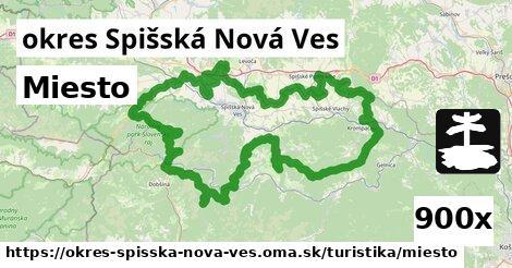 Miesto, okres Spišská Nová Ves