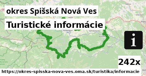 turistické informácie v okres Spišská Nová Ves