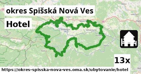 Hotel, okres Spišská Nová Ves