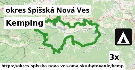 kemping v okres Spišská Nová Ves