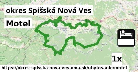 ilustračný obrázok k Motel, okres Spišská Nová Ves