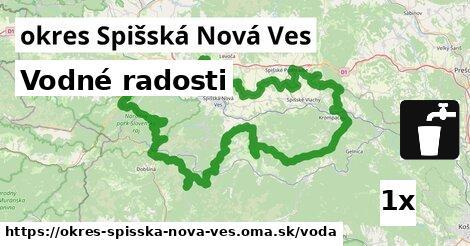 vodné radosti v okres Spišská Nová Ves
