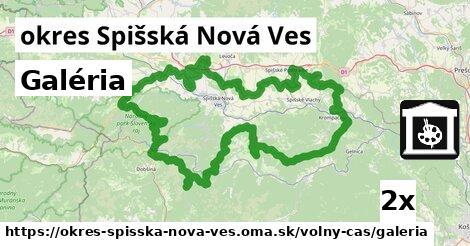 Galéria, okres Spišská Nová Ves