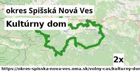 Kultúrny dom, okres Spišská Nová Ves