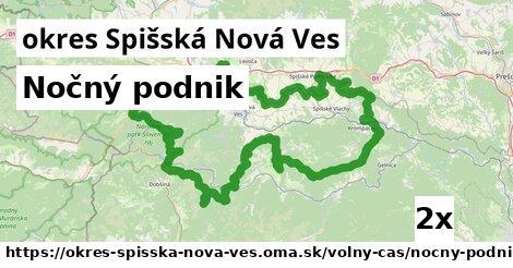 Nočný podnik, okres Spišská Nová Ves
