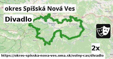 ilustračný obrázok k Divadlo, okres Spišská Nová Ves