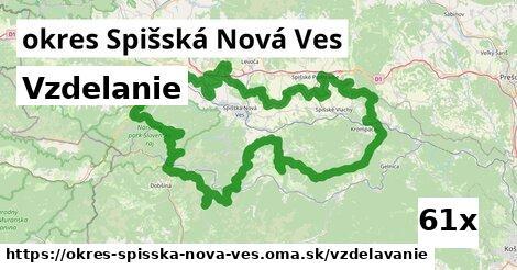 vzdelanie v okres Spišská Nová Ves