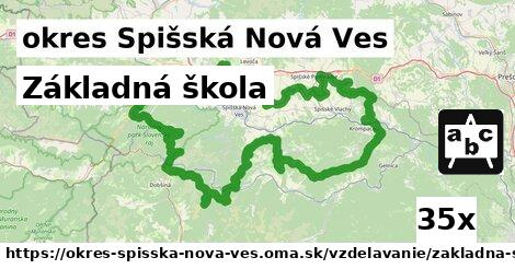 ilustračný obrázok k Základná škola, okres Spišská Nová Ves