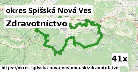 zdravotníctvo v okres Spišská Nová Ves