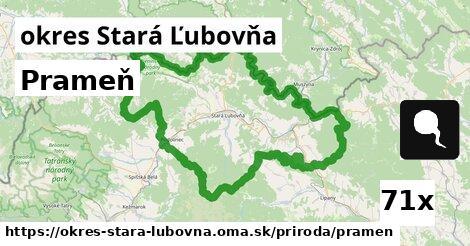 ilustračný obrázok k Prameň, okres Stará Ľubovňa