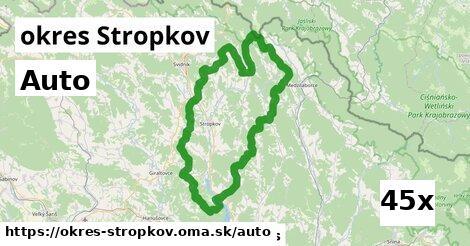 auto v okres Stropkov