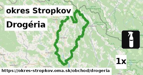 Drogéria, okres Stropkov