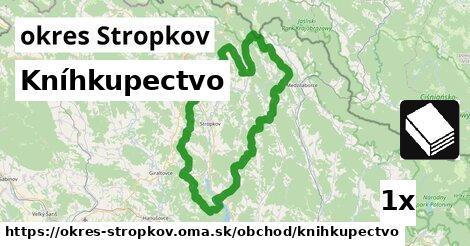 Kníhkupectvo, okres Stropkov