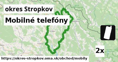 Mobilné telefóny, okres Stropkov