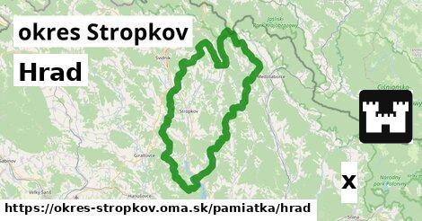 Hrad, okres Stropkov