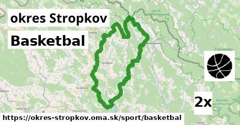 Basketbal, okres Stropkov