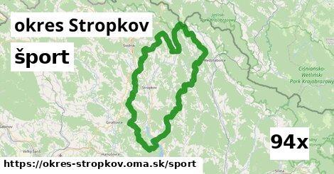 šport v okres Stropkov