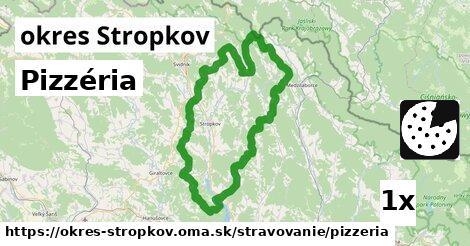 Pizzéria, okres Stropkov