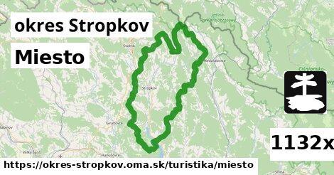 ilustračný obrázok k Miesto, okres Stropkov