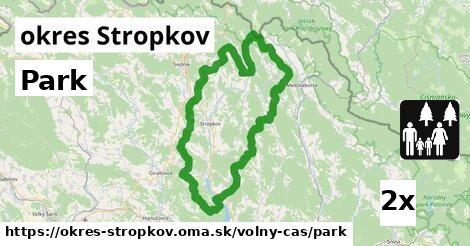 Park, okres Stropkov