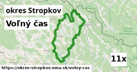 voľný čas v okres Stropkov