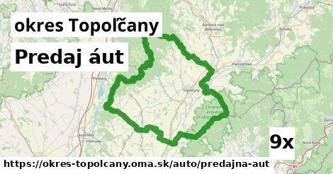 ilustračný obrázok k Predaj áut, okres Topoľčany