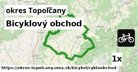 Bicyklový obchod, okres Topoľčany