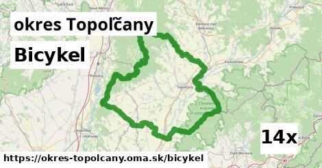 bicykel v okres Topoľčany