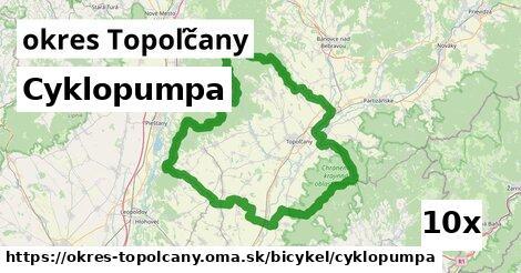 ilustračný obrázok k Cyklopumpa, okres Topoľčany