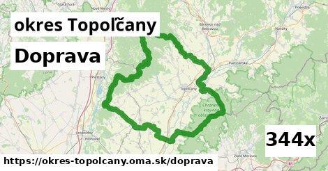 doprava v okres Topoľčany
