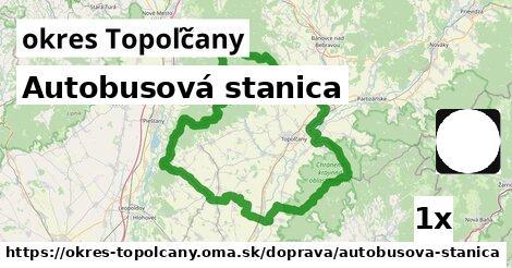 ilustračný obrázok k Autobusová stanica, okres Topoľčany