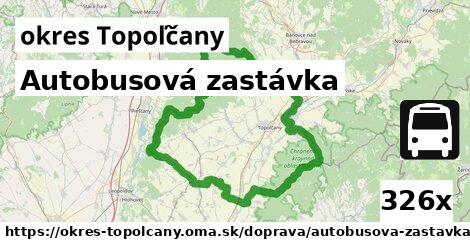 ilustračný obrázok k Autobusová zastávka, okres Topoľčany