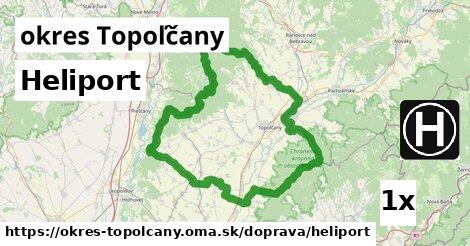 ilustračný obrázok k Heliport, okres Topoľčany