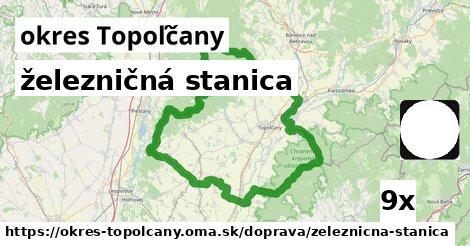 ilustračný obrázok k železničná stanica, okres Topoľčany