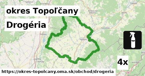 Drogéria, okres Topoľčany